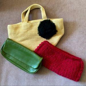 Adorable vintage 3-purse bundle